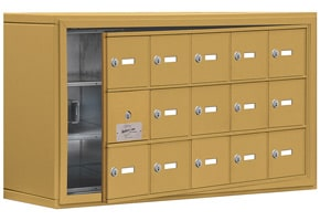 Salsbury 19138-15 Phone Locker Gold