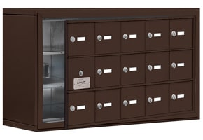 Salsbury 19138-15 Phone Locker Bronze