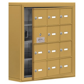 Salsbury 19145-12 Phone Locker Gold