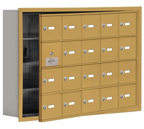 Salsbury 19145-20 Phone Locker Gold