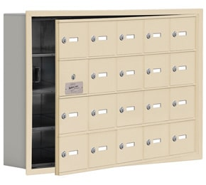 Salsbury 19145-20 Phone Locker Sandstone