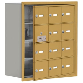 Salsbury 19148-12 Phone Locker Gold