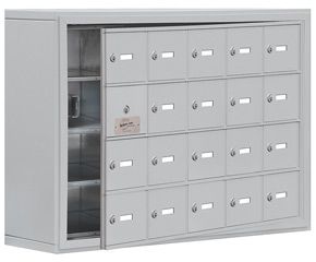 Salsbury 19148-20 Phone Locker Aluminum