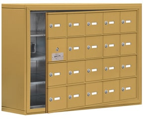 Salsbury 19148-20 Phone Locker Gold