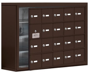 Salsbury 19148-20 Phone Locker Bronze
