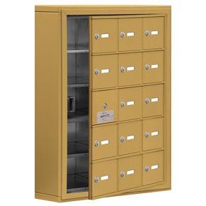 Salsbury 19155-15 Phone Locker Gold