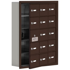 Salsbury 19155-15 Phone Locker Bronze