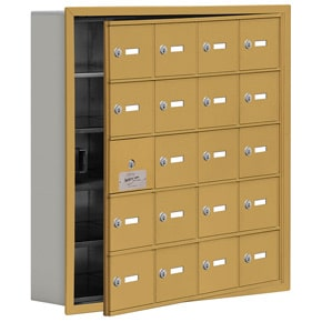 Salsbury 19155-20 Phone Locker Gold