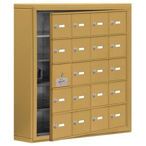 Salsbury 19155-20 Phone Locker Gold