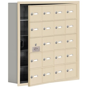 Salsbury 19155-20 Phone Locker Sandstone