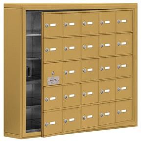 Salsbury 19155-25 Phone Locker Gold