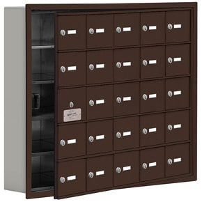 Salsbury 19155-25 Phone Locker Bronze