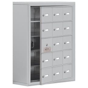 Salsbury 19158-15 Phone Locker Aluminum