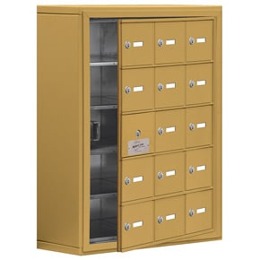 Salsbury 19158-15 Phone Locker Gold
