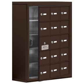 Salsbury 19158-15 Phone Locker Bronze