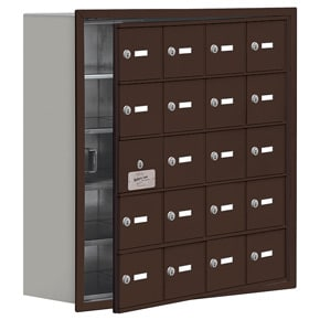 Salsbury 19158-20 Phone Locker Bronze