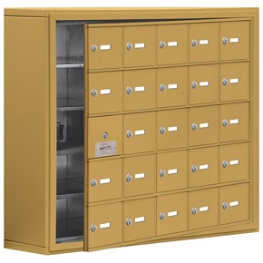 Salsbury 19158-25 Phone Locker Gold