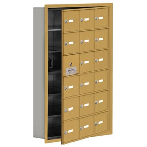 Salsbury 19165-18 Phone Locker Gold