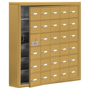 Salsbury 19165-30 Phone Locker Gold