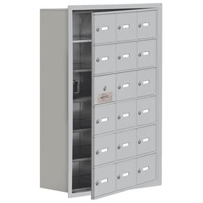Salsbury 19168-18 Phone Locker Aluminum