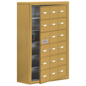 Salsbury 19168-18 Phone Locker Gold