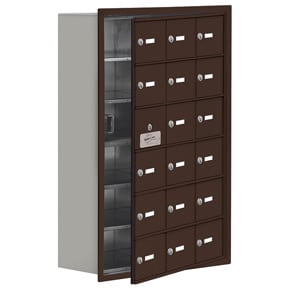 Salsbury 19168-18 Phone Locker Bronze