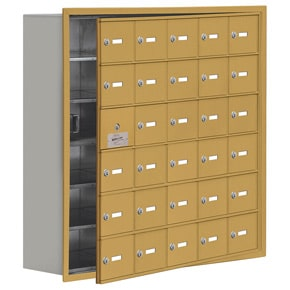 Salsbury 19168-30 Phone Locker Gold