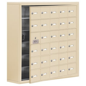 Salsbury 19168-30 Phone Locker Sandstone