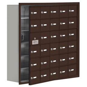 Salsbury 19168-30 Phone Locker Bronze