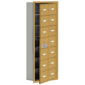 Salsbury 19175-14 Phone Locker Gold