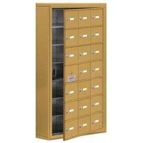 Salsbury 19175-21 Phone Locker Gold