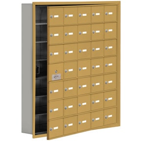 Salsbury 19175-35 Phone Locker Gold