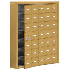 Salsbury 19175-35 Phone Locker Gold
