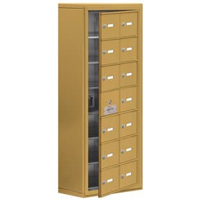 Salsbury 19178-14 Phone Locker Gold