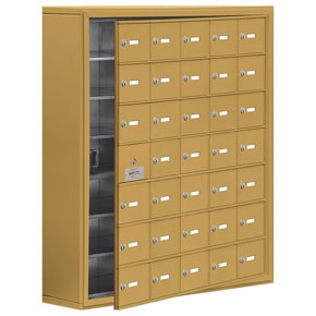 Salsbury 19178-35 Phone Locker Gold