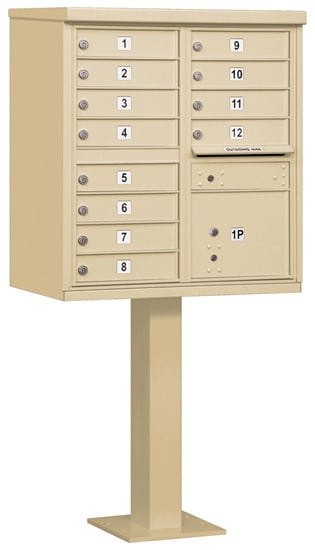 3312 12 Door Commercial CBU Mailboxes