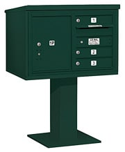 Salsbury 4C Pedestal 3405D-03 Green