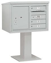 Salsbury 4C Pedestal 3405D-03 Gray