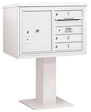 Salsbury 4C Pedestal 3405D-03 White