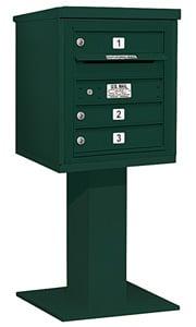 Salsbury 4C Pedestal 3405S-03 Green