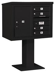 Salsbury 4C Pedestal 3406D-04 Black