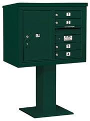 Salsbury 4C Pedestal 3406D-04 Green