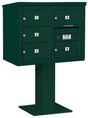 Salsbury 4C Pedestal 3406D-05 Green
