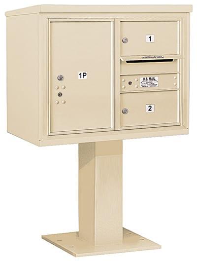 3406D02 Salsbury Commercial 4C Pedestal Mailboxes