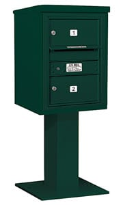 Salsbury 4C Pedestal 3406S-02 Green