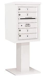 Salsbury 4C Pedestal 3406S-04 White