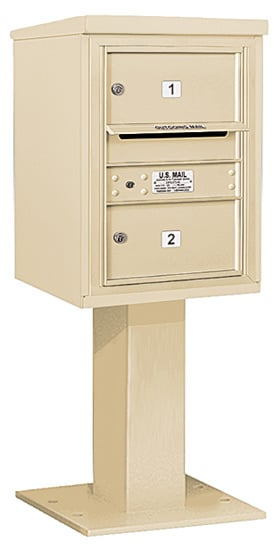3406S02 Salsbury Commercial 4C Pedestal Mailboxes