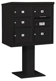 Salsbury 4C Pedestal 3407D-05 Black