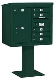 Salsbury 4C Pedestal 3407D-06 Green