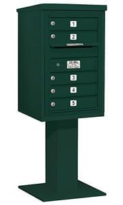 Salsbury 4C Pedestal 3407S-05 Green